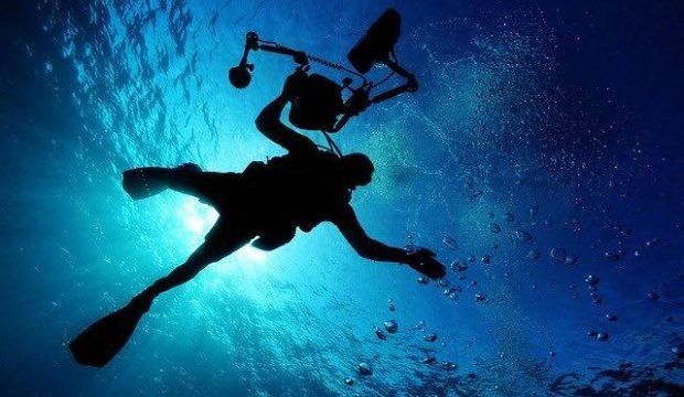 plongée en haute mer